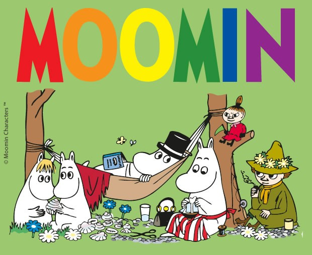 Coloriage MOOMIN