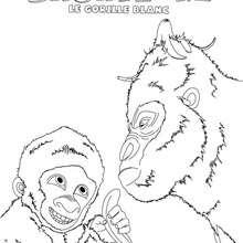 Coloriages coloriage en ligne snowflake - Gorille coloriage ...