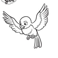 Mia l'oiseau de Princesse Sofia