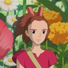 miyazaki, Coloriage ARRIETTY dans le petit monde des chapardeurs