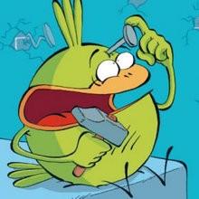 de 4 à 6 ans, Le Piou, l'oiseau le plus idiot de tous