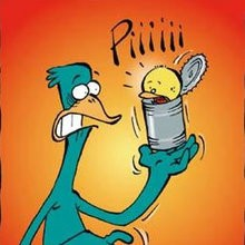 Quel massacre - Lecture - BD pour enfant - Le Piou, l'oiseau le plus idiot de tous - Le Piou : IDIOT D'OISEAU