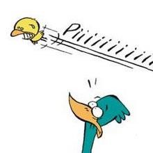 Planche de BD : Pauvre petit oiseau