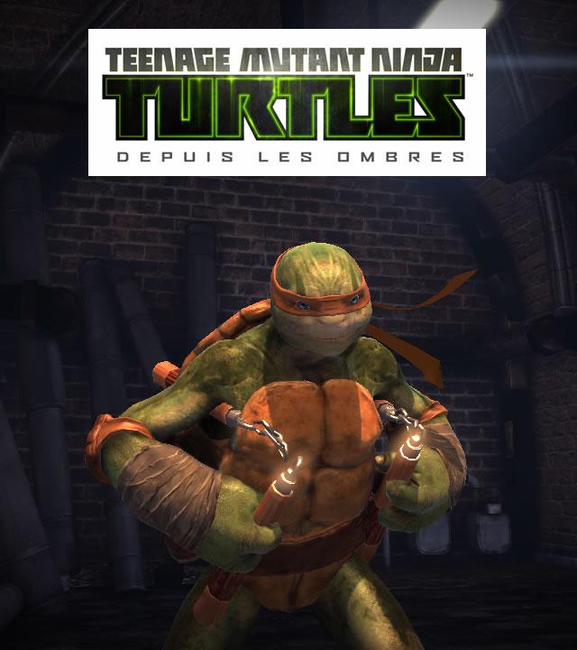 , premier personnage dévoilé du jeu TMNT : Depuis les ombres