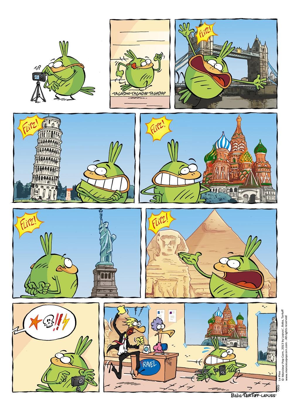 Le tour du monde en 2 minutes
