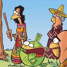 Mexique : la Piñata - Lecture - BD pour enfant - Le Piou, l'oiseau le plus idiot de tous - Le Piou : WORLD TOUR