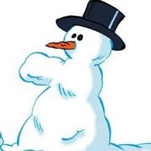 Planche de BD : Le bonhomme de neige