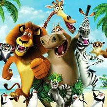 coloriages pour garçons, Coloriage Madagascar