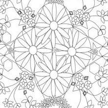 MANDALAS à colorier - Coloriage MANDALA - Coloriage