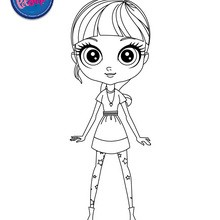 Colorier les PET SHOP - Coloriage - Coloriage LITTLEST PET SHOP