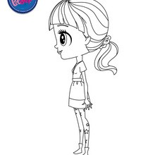 Coloriage en ligne PETSHOP - Coloriage - Coloriage LITTLEST PET SHOP