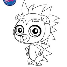 Coloriage RUSSELL FERGUSON - Coloriage - Coloriage LITTLEST PET SHOP