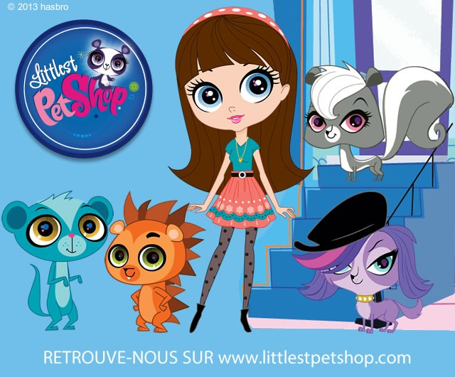 Coloriages littlest pet shop - Dessin anime de petshop ...