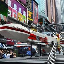 Une réplique grandeur nature du X-Wing Starfighter à New York !