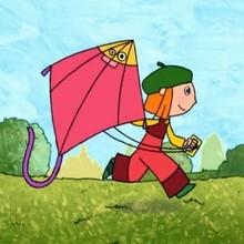 Faire décoller un cerf-volant, façon Lucie - Vidéos - Vidéos LUCIE