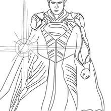 Coloriage : Jor-El