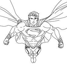 Coloriage : Superman