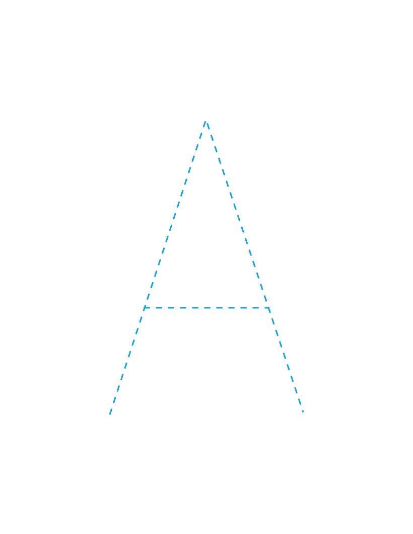 Comment dessiner la lettre a - Dessiner l alphabet ...