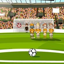 Le jeu des tirs au but - Jeux - Jeux en ligne gratuits
