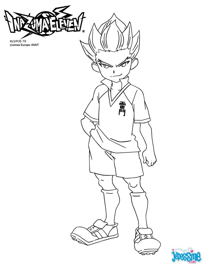 Coloriages axel blaze - Dessin anime de inazuma eleven ...
