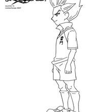 Coloriages axel blaze de profil - Dessin anime de inazuma eleven ...