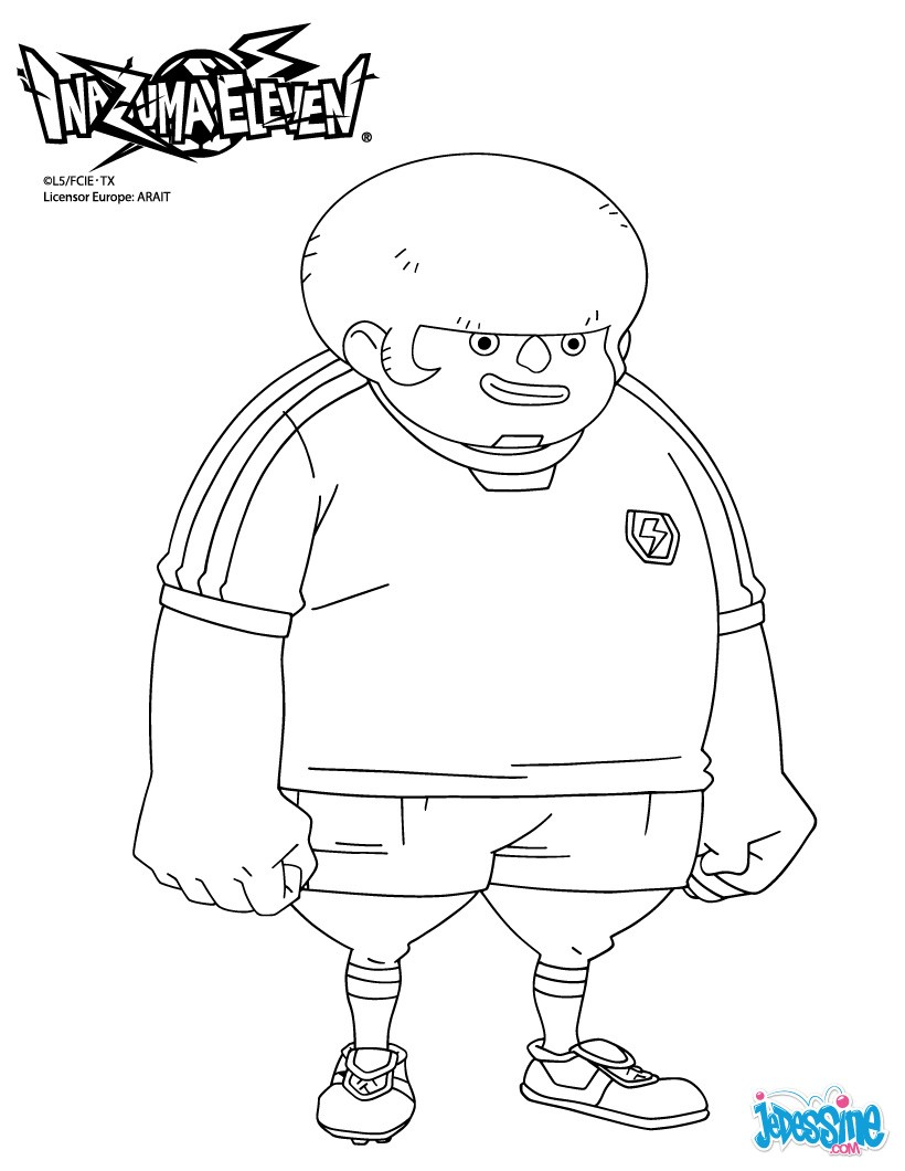 Coloriages jack wallside - Dessin anime de inazuma eleven ...