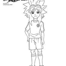 Coloriages hurley kane - Dessin anime de inazuma eleven ...
