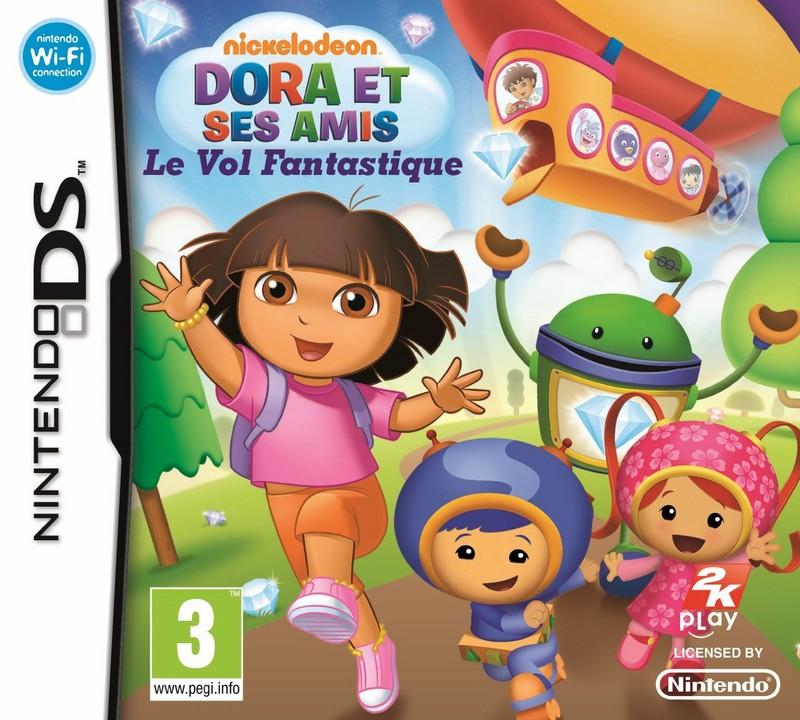 Dora et ses amis : le voyage fantastique sur nintendo DS