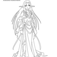 Coloriage les Légendaires : SHIMY Elfe élémentaire