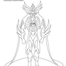Coloriage les Légendaires : KREA-KAOS