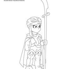 Coloriage les Légendaires : Garde DORAYLLIEN