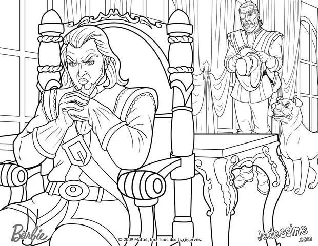 Coloriages coloriage des comploteurs contre le prince fr - Coloriage de prince ...