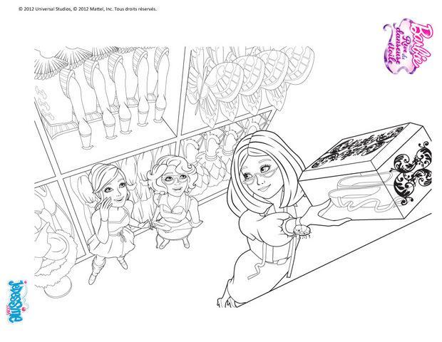 Coloriages coloriage petits rats de l 39 op ra - Coloriage barbie danseuse ...