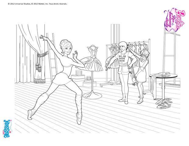 Coloriages coloriage r p tition de danse - Coloriage de danse ...