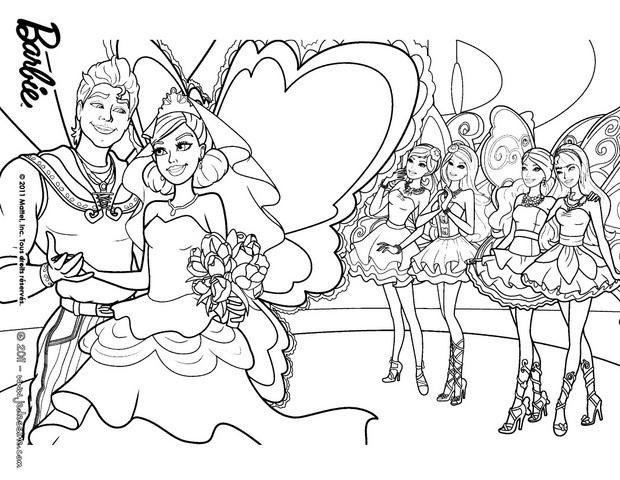 Coloriages le mariage de zane et graciella colorier - Coloriage mariage a imprimer ...