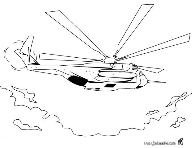 Coloriages coloriage d 39 un h licopt re - Coloriage helicoptere cars ...