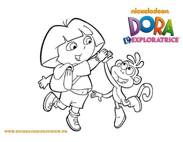 Pin coloriage pirate 14 pirates personnages on pinterest - Nickelodeon junior gratuit ...