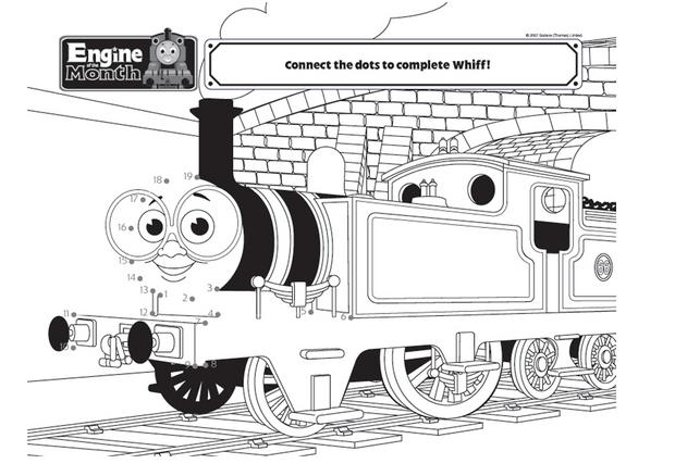 Coloriages coloriage de whiff - Thomas le petit train coloriage ...