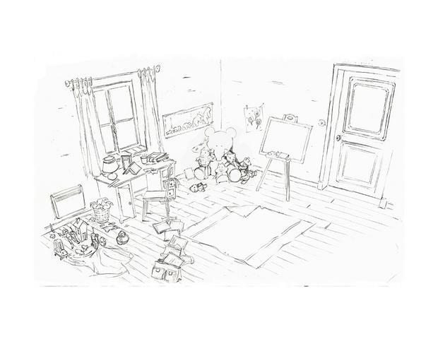 Coloriages dessin gratuit ernest imprimer - Ernest et celestine coloriage ...