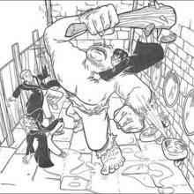 Un troll dans les toilettes de Poudlard