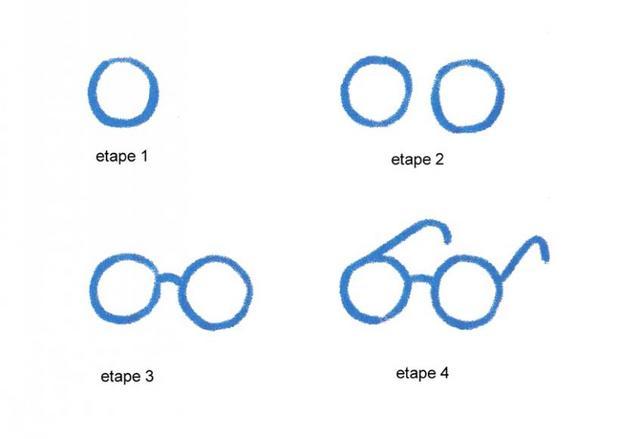 Comment dessiner des lunettes - Dessins a dessiner facile ...