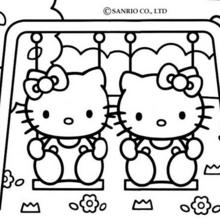Coloriages hello kitty - Coloriage hello kitty a colorier ...