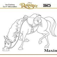 Coloriage Disney : Maximus