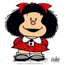Coloriages pour filles, Coloriage Mafalda