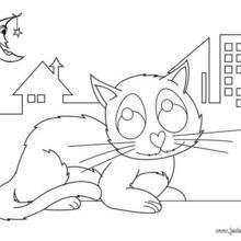 Coloriages de chat coloriages coloriage imprimer - Un chat gratuit ...