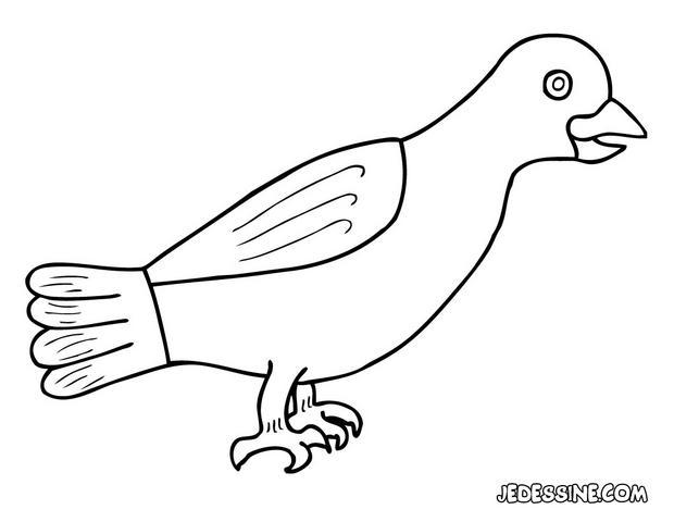 Coloriages coloriage d 39 un corbeau - Coloriage corbeau ...