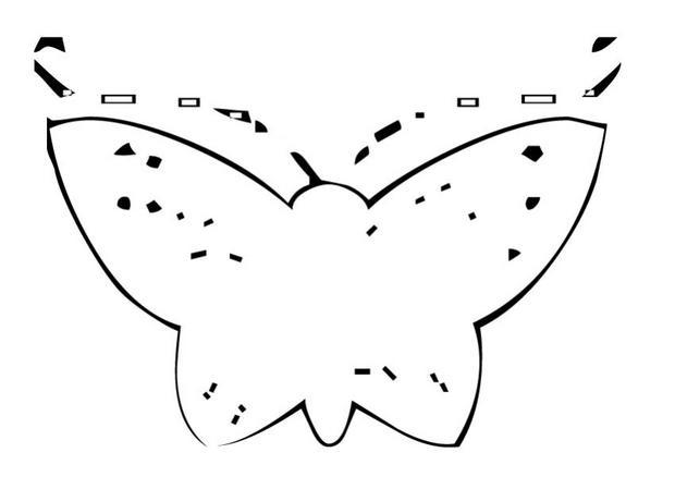 Coloriages coloriage d 39 un papillon n 19 - Coloriage d un papillon ...