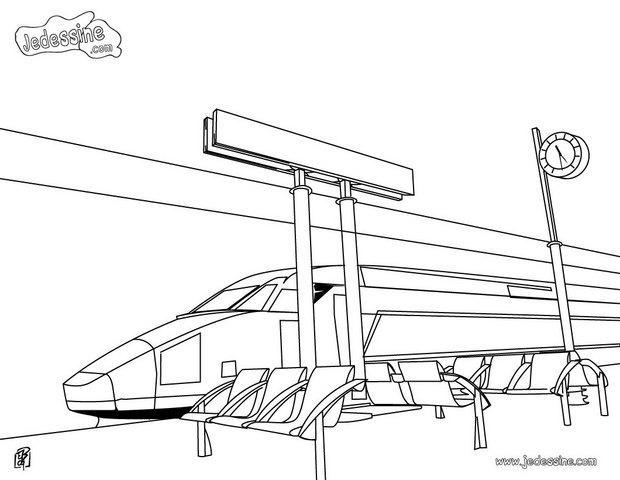 Comment dessiner une gare - Comment dessiner un train ...