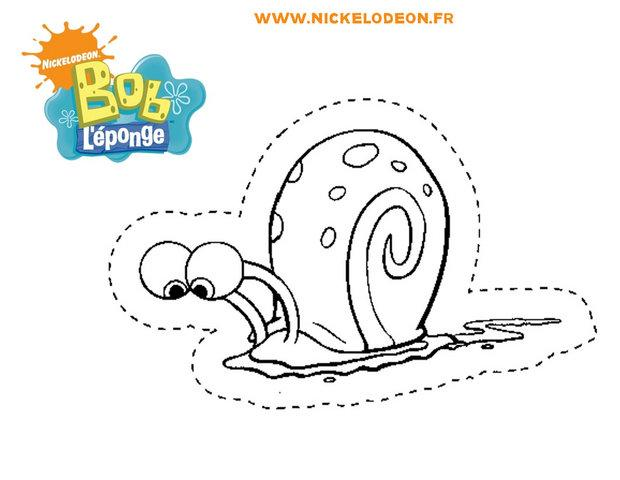 Coloriages gary l 39 escargot d couper - Gary l escargot ...