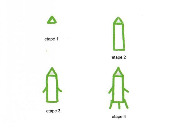 Comment Dessiner Une Fusée Fr Hellokids Com